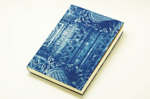 Handmade cyanotype notebook - sages Zenith