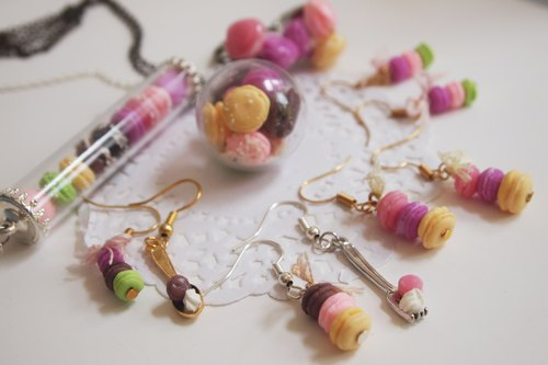 Lovely macarons earrings