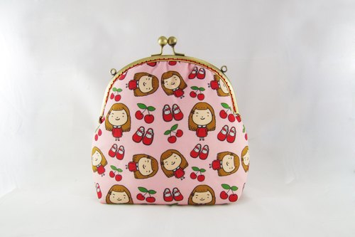 Cherry Dolls oblique backpack (with back-rope)