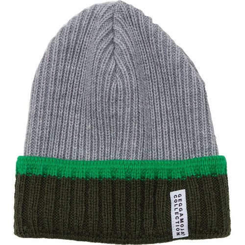 [System] Swedish organic cotton wool knit cap cold reflexed Green 2Y-6Y