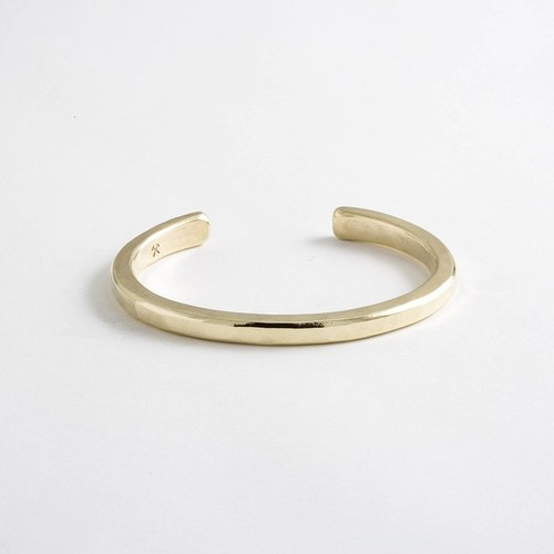 Pittsburgh staff person brand Studebaker Metal - pure hand-forged brass bracelet Heavyweight