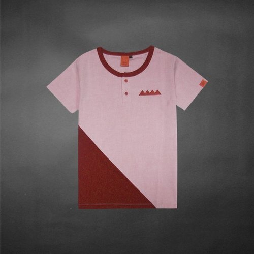 Triangle stitching uniforms as !!! Tee- like pink (only XS, XXS)