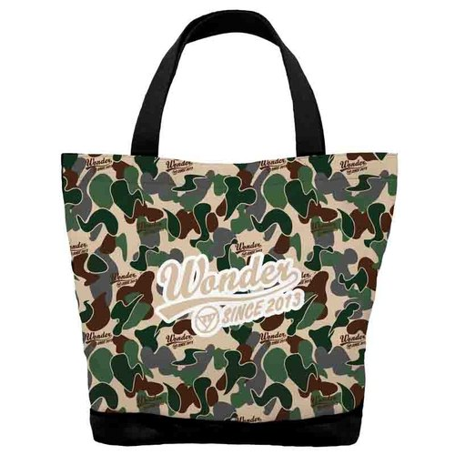 Army Green Camouflage Tote block