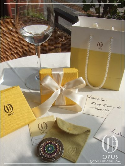 OPUS purchase gift packaging