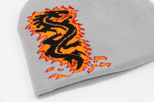 [Clothes] XXX-rated Men Wai fireworks dragon rock knit cap