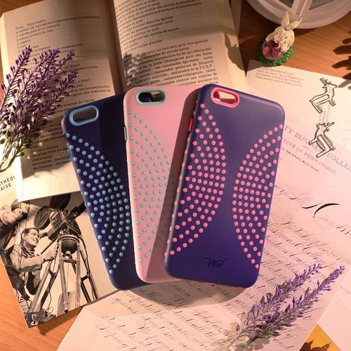 iPhone 6 Plus / 6s Plus Mobile Shell 5.5 inch [Dimples bloom ripples] - WaKase