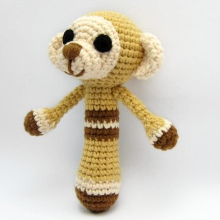 Happy monkey - baby rattle - Inspired Toys
