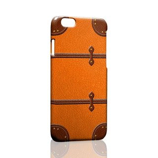 Orange suitcase iPhone X 8 7 6s Plus 5s Samsung S7 S8 S9 phone case