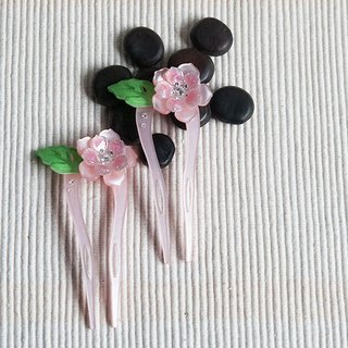 [MITHX] color of Something New, U-shaped hairpin, hairpin, hair plug - pink