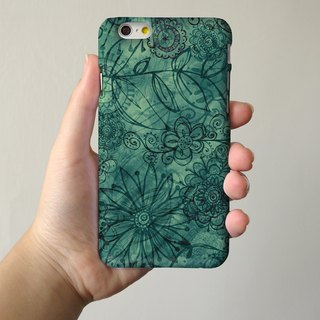 Dark Green 3D Full Wrap Phone Case, available for  iPhone 7, iPhone 7 Plus, iPhone 6s, iPhone 6s Plus, iPhone 5/5s, iPhone 5c, iPhone 4/4s, Samsung Galaxy S7, S7 Edge, S6 Edge Plus, S6, S6 Edge, S5 S4 S3  Samsung Galaxy Note 5, Note 4, Note 3,  Note 2