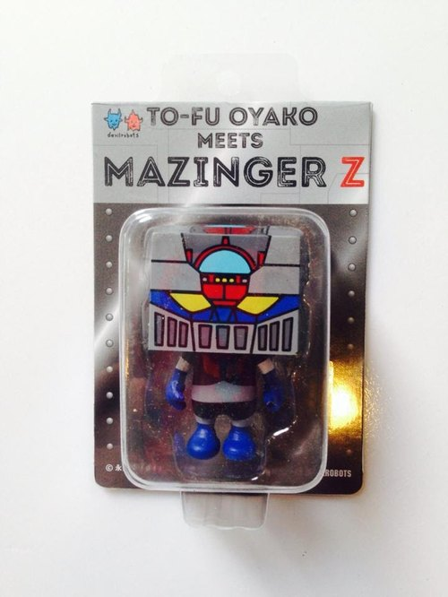 豆腐人2吋公仔 TO-FU meets MAZINGER Z