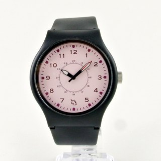 UNI Plastic simple collision colors watch