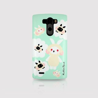 (Rabbit Mint) Mint Rabbit Phone Case - Merry Boo Radiant Series - LG G3 (M0016)
