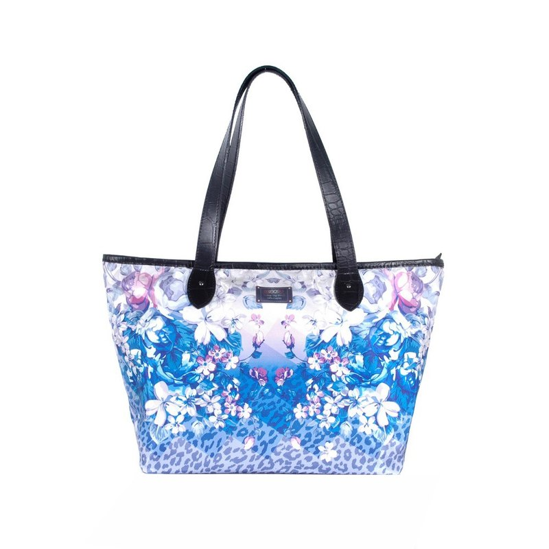 COPLAY tote bag III-blue flower fashion