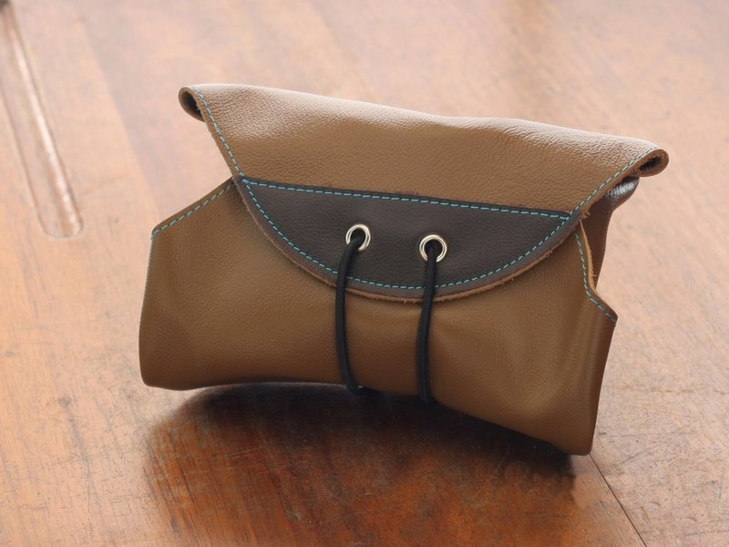 HIPSIONG leather camera lens cloth -Ray big (Brown)