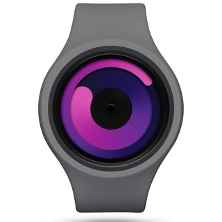 Cosmic gravity + series watch (gray / purple, GRAVITY PLUS + (Gray / Purple)