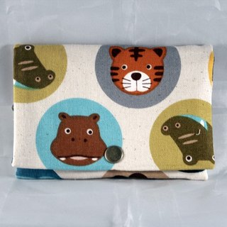 Multi-level coin purse - Dot Animal Park