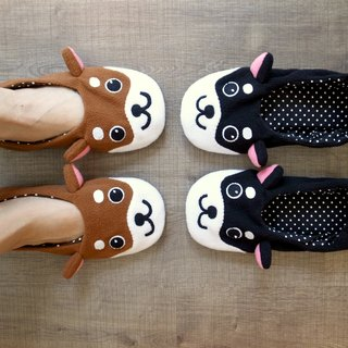boboSARU to travel with a Shiba Inu indoor travel cloth slippers (adult section)