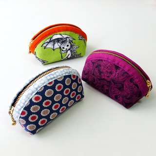 Clamshell purse