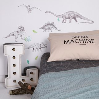 Dinosaur Invasion < love mae Australia nontoxic patent wall stickers in >