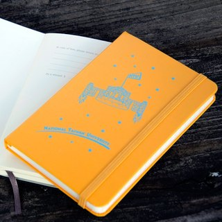 NTU Publishing Center Original Moleskine Legendary Notebook School Gate Rocket Notebook Orange Yellow
