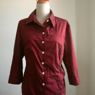 Dark red sleeve shirts