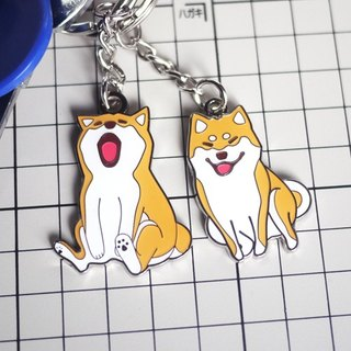 Original Shiba Inu warehouse house key chain metal 鈅 playing under / Charm Smile