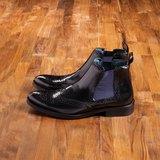 Vanger 優雅美型‧紳士經典卻爾西靴║Va181紳士黑
