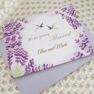 Wedding invitations wedding cards - Yanyanyufei