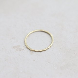 Brass ring 0341 simple
