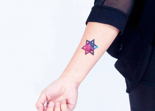 Surprise Tattoos / Cosmos starry sky cosmic sky tattoos tattoo stickers