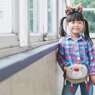 Balloon-small side backpack (baby bear)