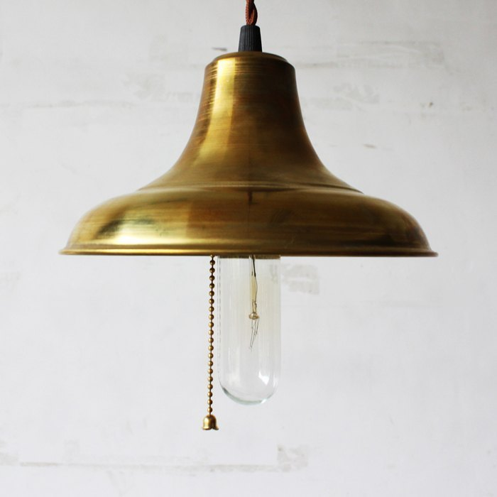 Modern Polaroid own brand MFS industrial style lampshade / copper