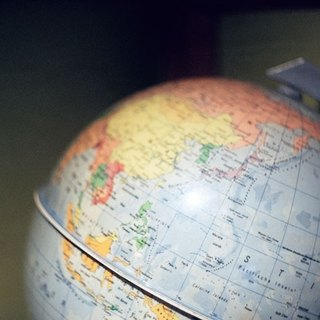 Film Photography Postcard - Travel Series - Globe