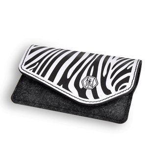 Name Card Holder_Zebra(White)