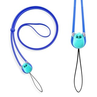 Charm Lanyard stretch neck lanyard - Mao blame [Monsters University]