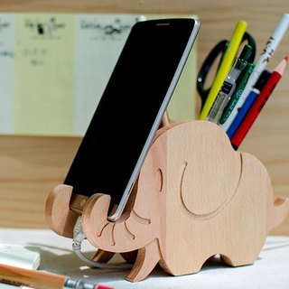 [customized gift] elephant iPhone Android customized mobile phone holder pen holder
