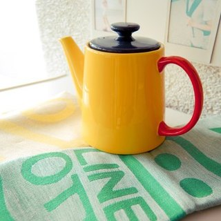 Jansen + co kitchen towel - green symbol