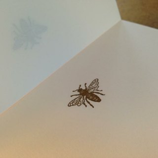 PAPIER A5 blank writing paper. Bee models
