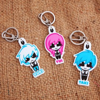 UNDEAD doll key ring set