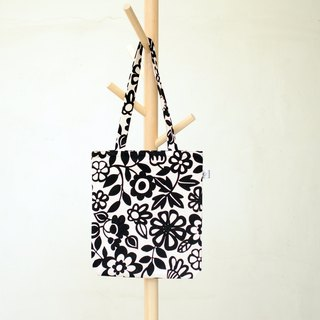 [BestFriend] flower Butuo Te bags - (Long Handle / Holstein)