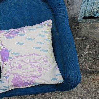Exclusive Orders - [ZhiZhiRen] Yuan | Pillow Case - Cijin complement fish 50x70cm