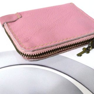 Happiness lock bill purse - pink Lover