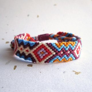 Garden lucky rope woven bracelet (optional color)