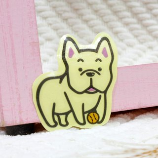 [Reflective stickers] law bucket French Bulldog 4.8 * 5.6 cm