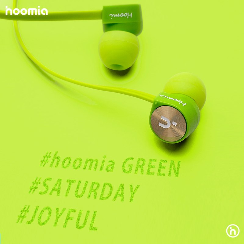 Lustful live live homia good Miya hot replenishment to [E1G] Nautilus In-Ear stereo headphones (good Mia Green)