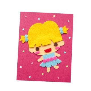 Handmade Card Universal Card _ Character Doll C ... Birthday Card, Valentine Card, Thank You Card