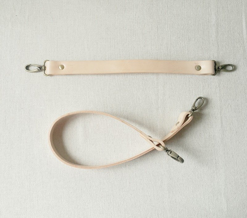 Leather shoulder strap (within 55cm)