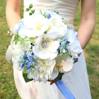 Wreaths Manor*Handmade jewelry bouquet*custom made ​​* Continental suitors bouquet bouquet ~ ~ ~ ~ simulation overseas wedding flower bouquet ~~ NO.125