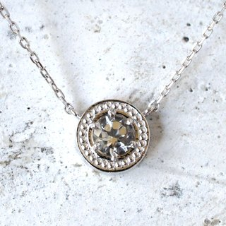 Mill Circle necklace (crystal)